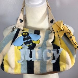 Juicy Couture Bumblebee Bag Purse Y2K Early 2000's